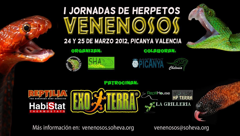 jvenenosos1 Queda una semana para la I Jornada de Herpetos Venenosos