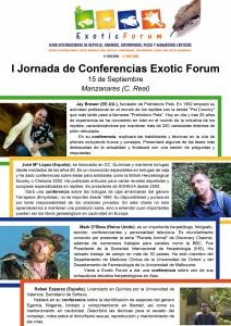 conferencias exotic 212x300 Reptiles, anfibios y otros animales exóticos se dan cita en Exotic Forum