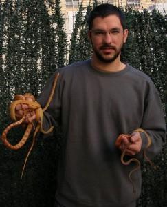 carlos vicente 243x300 Ofidios 2013: Ecología, mantenimiento y reproducción de Corallus hortulanus. Ponencia de Carlos Vicente Buitrago