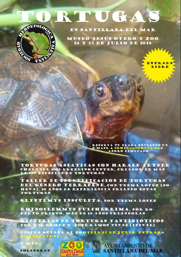 Maquetación 1 11 Tortugas en Santillana del Mar, del 14 al 15 de Julio de 2018
